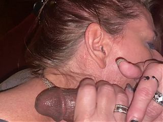 Mature slowly sucks pierced BBC