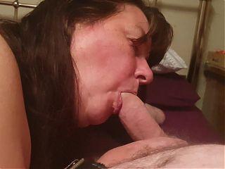 Bbw slut Kate Bay sucks cock and gets fucked wearing buttplug