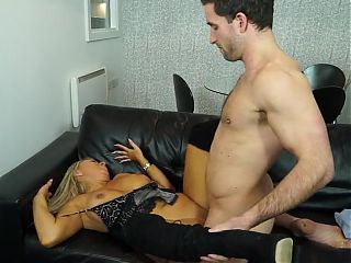 Steamy hot housewife fucking young guy