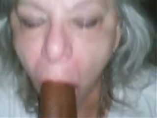 Granny suck Big Black Dick
