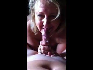 Cougar Loves Eating Cum
