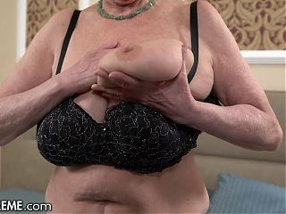 Huge Titty GILF Smothers Stud With Her Insane Body