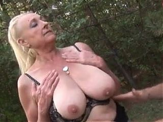 Granny Fucked In A Forest