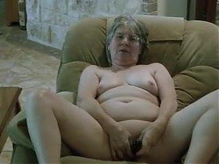 Granny masturbate