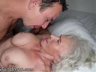 Horny Hunk Links Up With Sneaky BBW Cougar