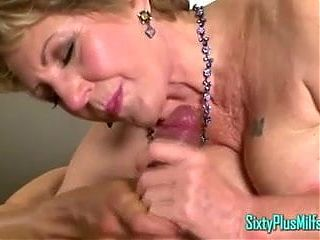 Granny Arse Fingered While Fucked