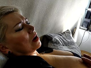 Sweet Milf Has Hot Orgasm: Fuck, Lovense and Nipple Torment...