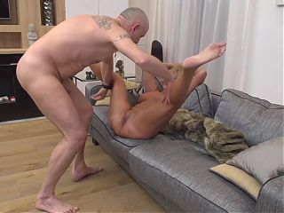 Mature mom having hot sex with daddy