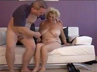 BBW Blond Granny